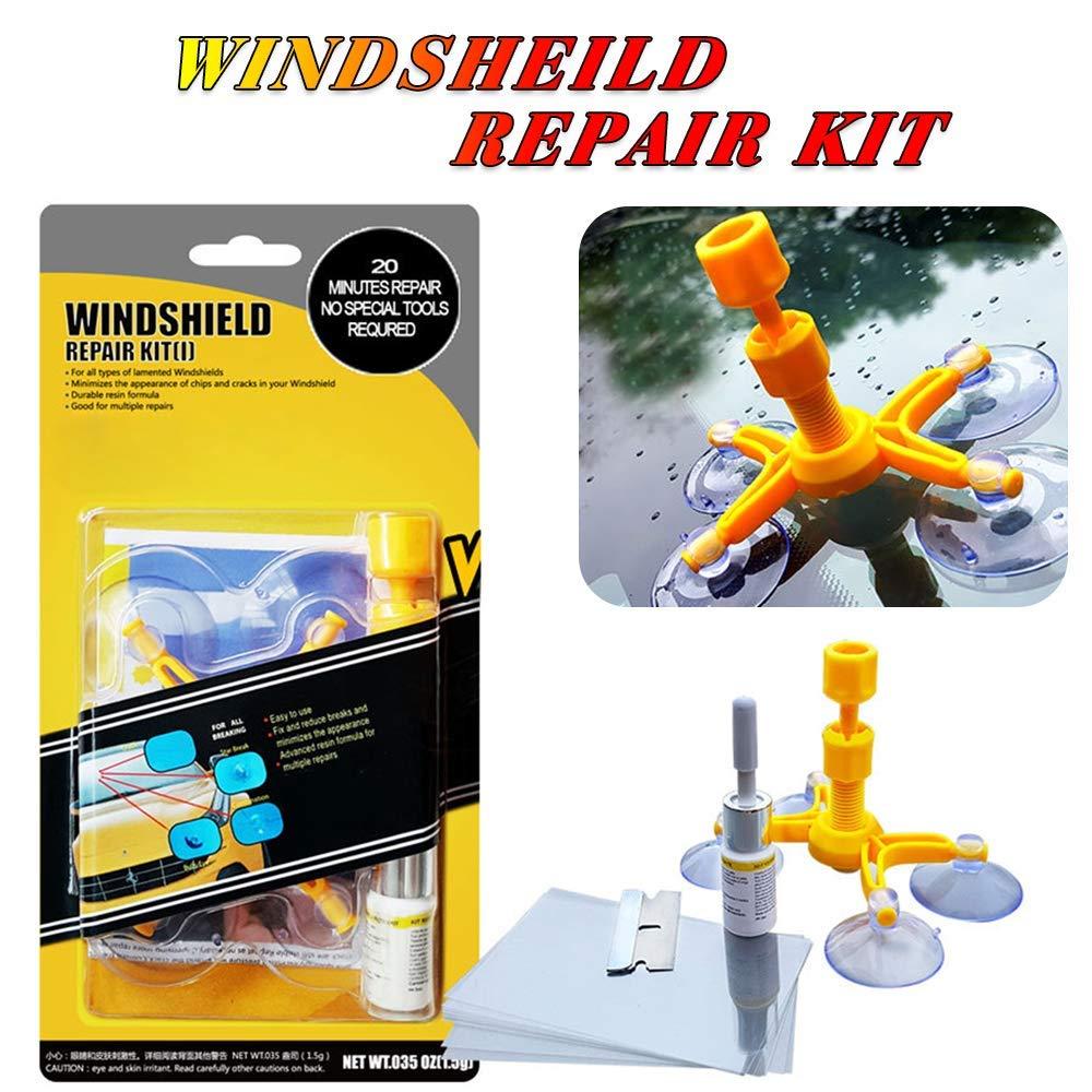 Windshield Repair Kit >> Diy Car Wind Shield Glass Repair Kit Glass Windscreen Repair Glass Too
