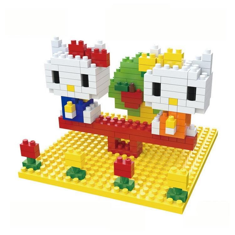 Diy cartoon lego nano blocks weagl end 12 29 2018 11 15 pm - Lego hello kitty maison ...