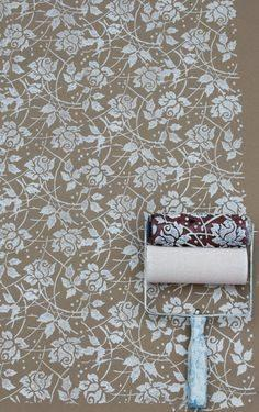 Wallpaper Roller diy creative pattern paint roller (m (end 7/19/2018 4:37 pm)