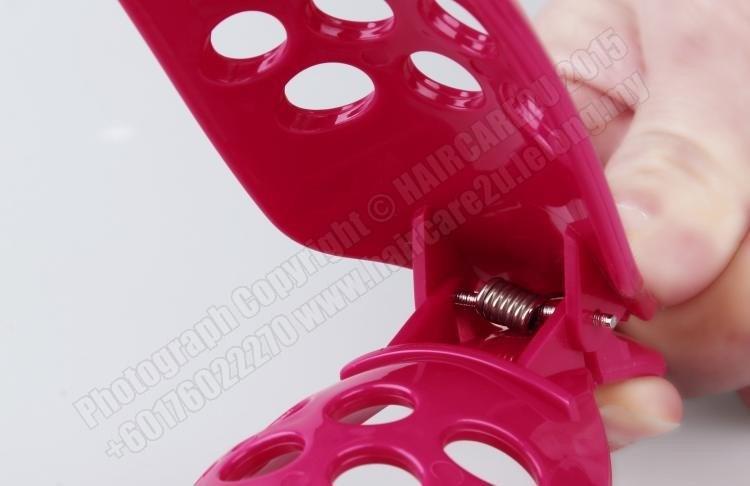 DIY Hair Curler for Hair Fringe Styling Clip