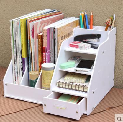 telescopic shelves no bookshelf fox shuai office desktop bookcase supermall bookcases