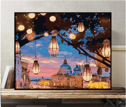 DIY Oil Painting In Number 40*50cm (Code : P190)