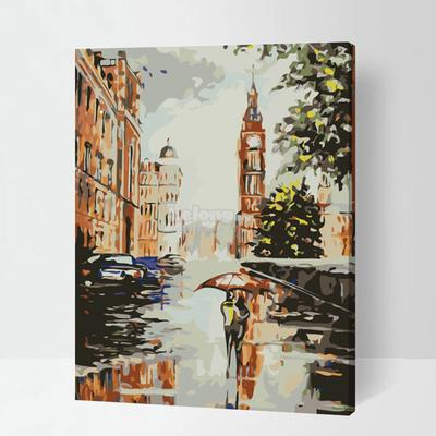 DIY Oil Painting In Number 40*50cm (Code : P217)