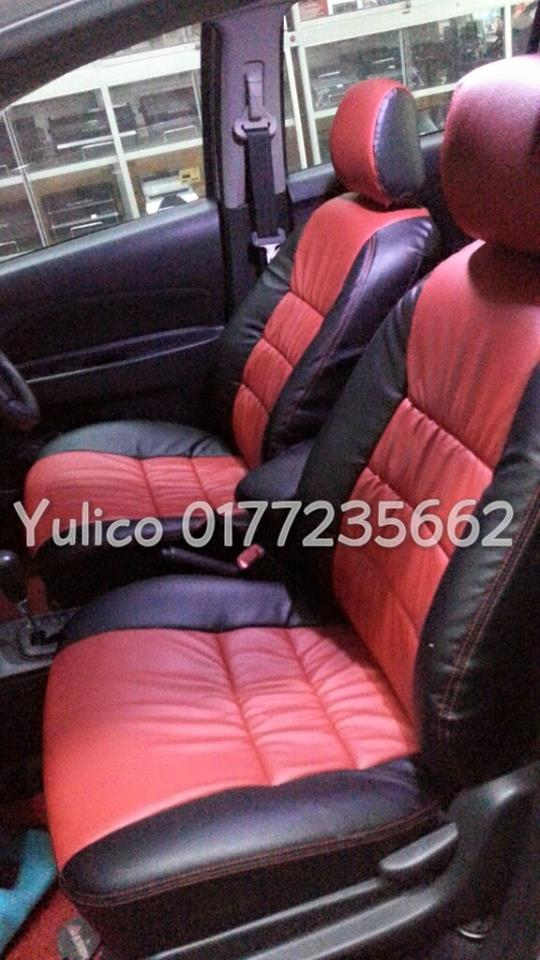 DIY PVC/PU LEATHER Car Seat Cover/Cushion For Honda Accord CA3/SM4