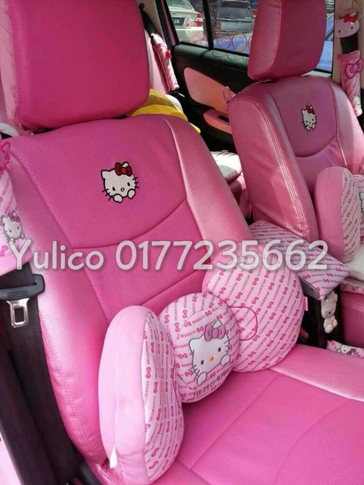 DIY PVC PU LEATHER Car Seat Cover Cushion For Kia Spectra 5