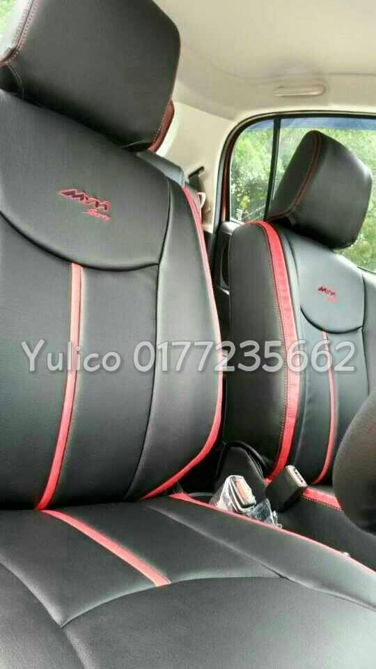 DIY PVC/PU LEATHER Car Seat Cover/Cushion for Proton Inspira 1.8