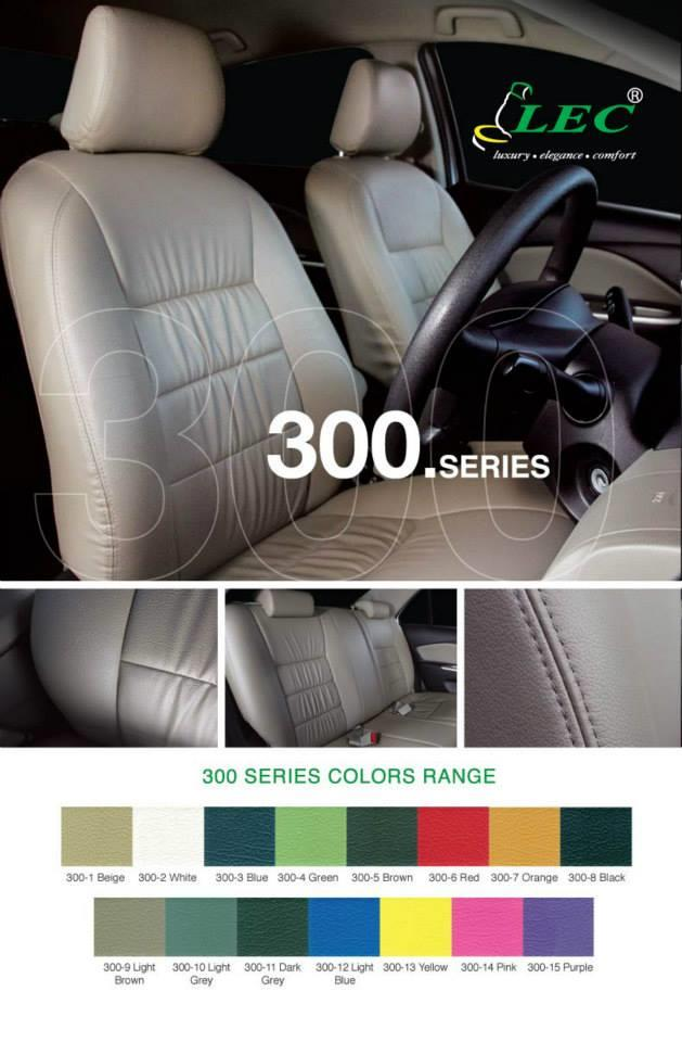 DIY PVC/PU LEATHER Car Seat Cover/Cushion for Proton Preve 1.6