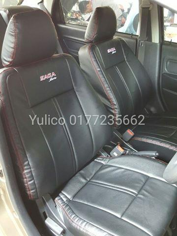 DIY PVC PU LEATHER Car Seat Cover Cushion For Toyota Hilux 4x4