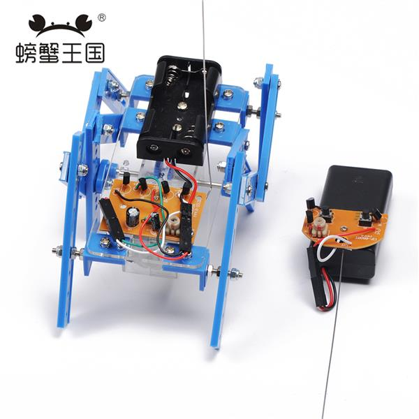 DIY Remote Control ; RC Hexapod Spider Robot Educational Assembly Kit