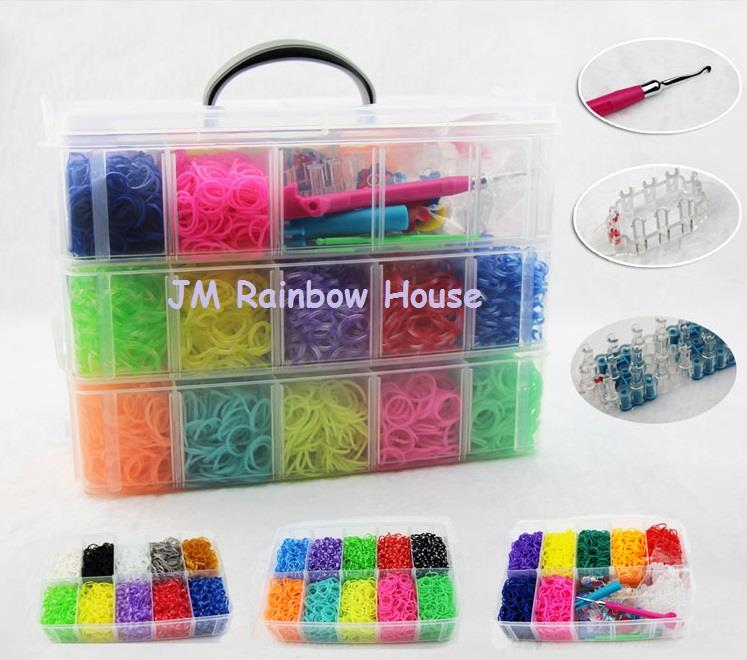 how starburst a guides loom to rainbow rubberband ac bracelet make snapguide