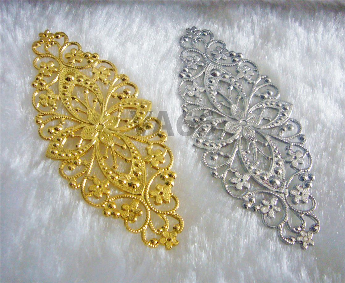DIY Silver Gold Filigree Lace Exten (end 2/14/2018 10:07 PM)