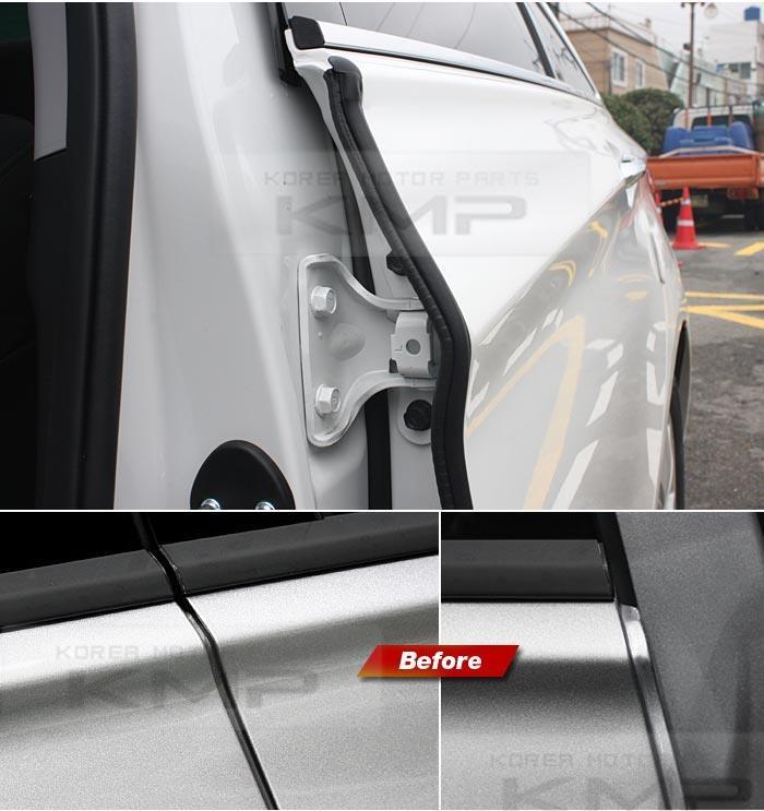 Hyundai Civic For Sale: DIY Sound Insulation Rubber Strip
