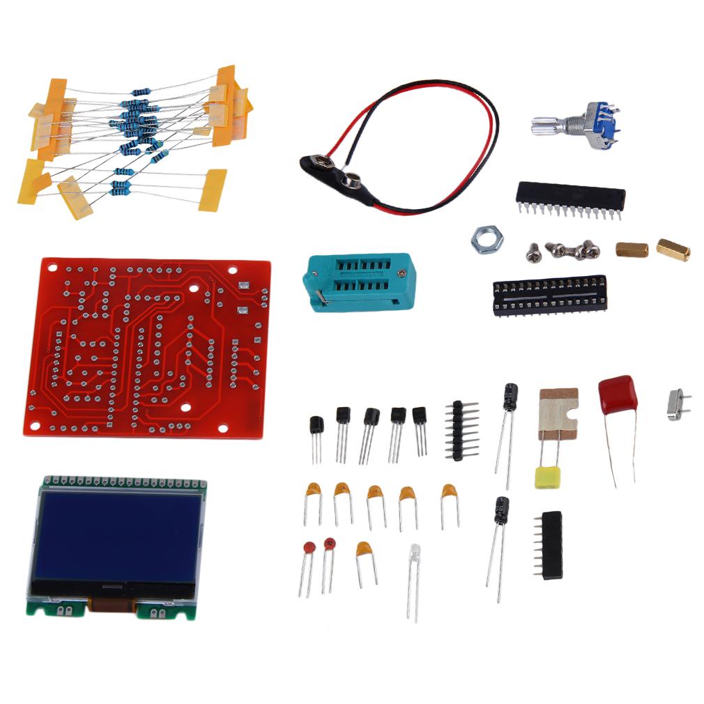 Diy Transistor Tester Kit For Npn Lc End 8 27 2019 940 Am Pwm Signal Generator Circuit Lcr Esr Ts Mx8n