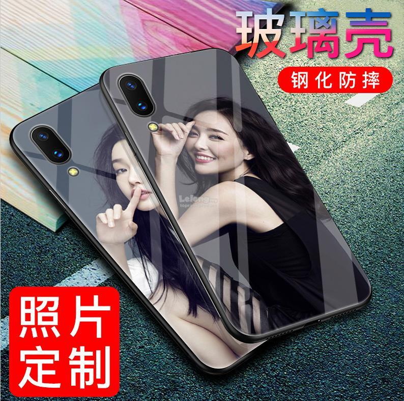 DIY ViVO Y85 V9 V7 Plus Y71 V5 V5S Custom Tempered Glass Case Cover