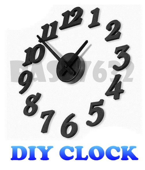 DIY  Wall Clock Simple Interior Designer Stylish Modern Art