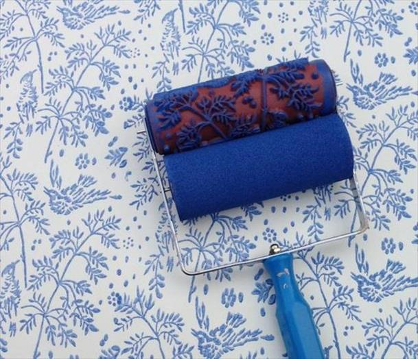 Wallpaper Paint Roller diy wall pattern paint roller decora (end 7/19/2018 4:37 pm)