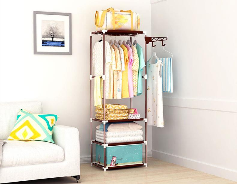 DIY Wardrobe Storage Stainless Steel Rack Cabine. u2039 u203a  sc 1 st  Lelong.my & DIY Wardrobe Storage Stainless Stee (end 12/7/2018 12:39 PM)