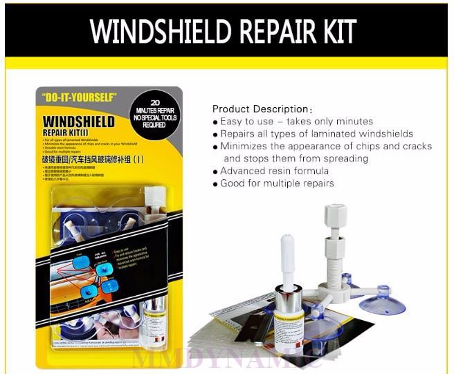 Windshield Repair Kit >> Diy Windshield Windscreen Repair Kit With Advanced Resin Formula