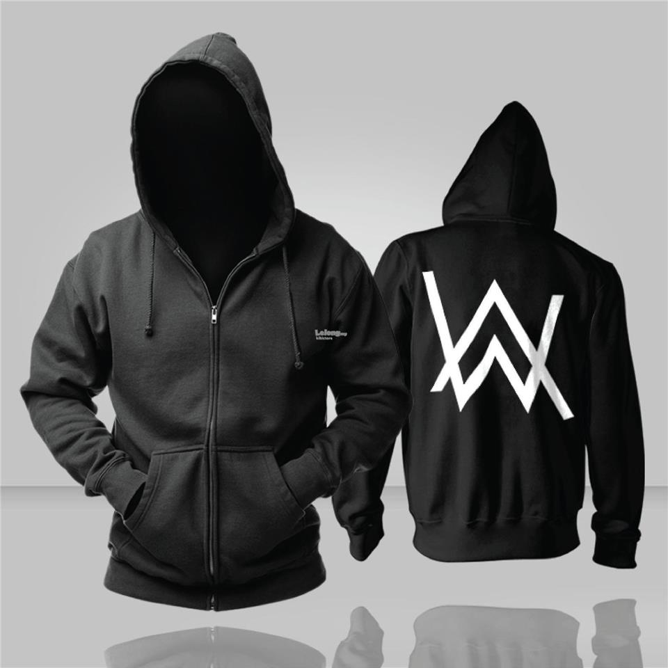 DJ Alan Walker Inspired Faded Hoodie Jacket Thin Thick Winter. ‹ ›
