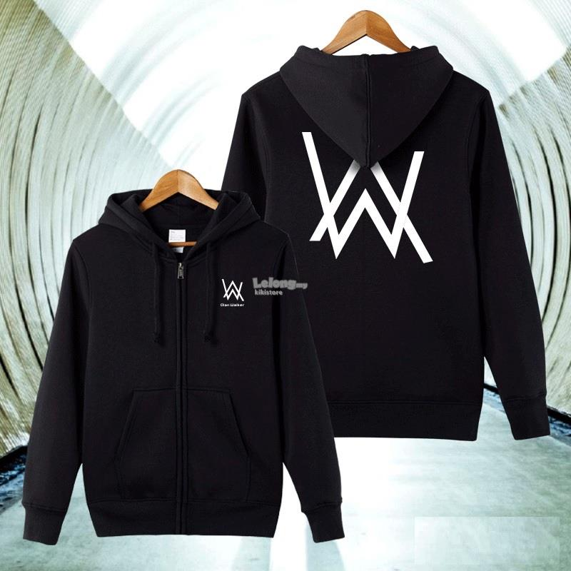 DJ Alan Walker Inspired Faded Hoodie Jacket Thin Thick Winter