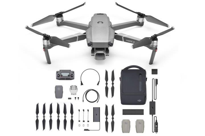 DJI Mavic 2 Pro Fly More Combo Kit Drone Free Lexar 128GB Micro SD