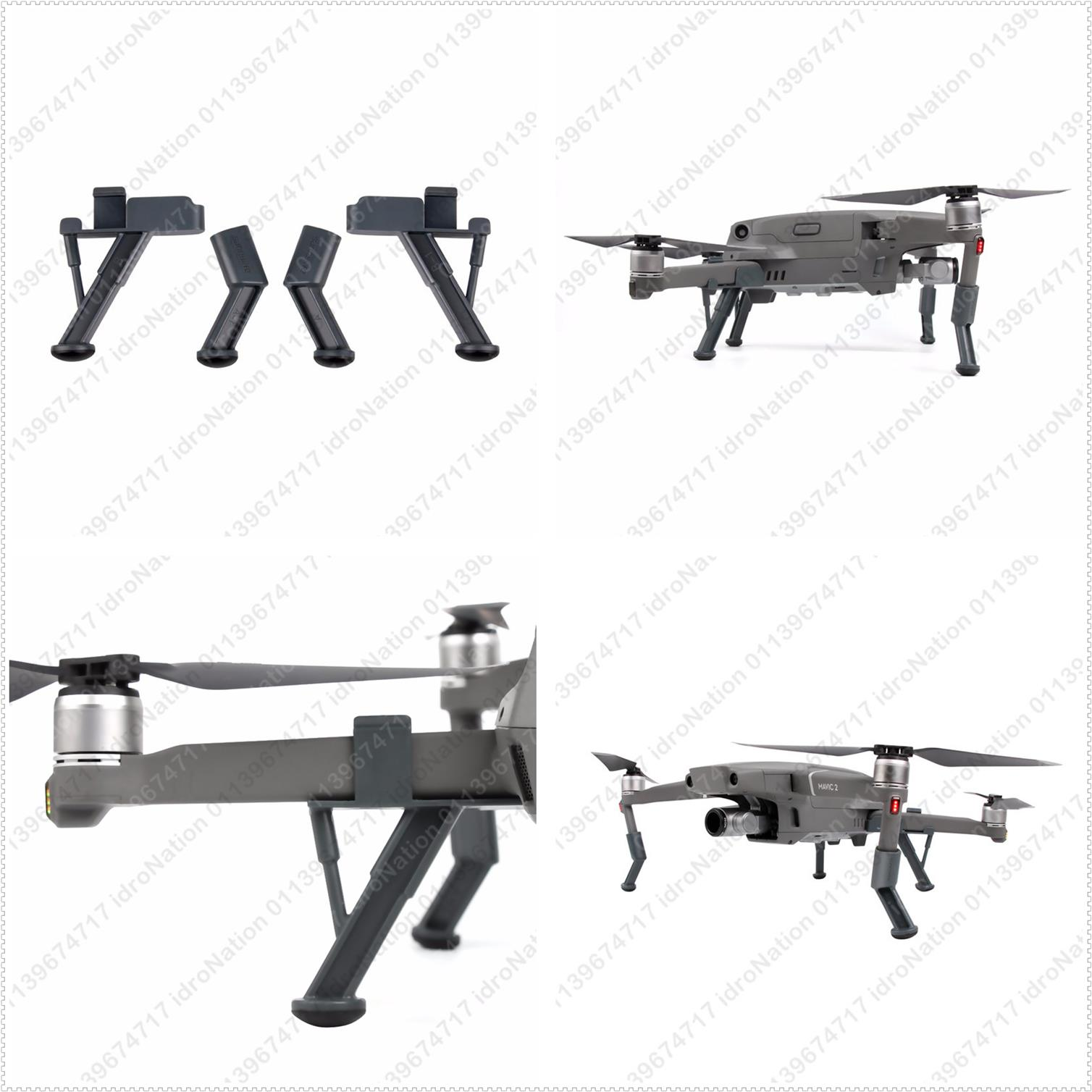 DJI Mavic 2 Pro Zoom Leg Height Extender Landing Gear Shock Absorber