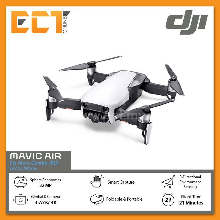 Onyx Black DJI MAVIC Air Fly More Combo EU
