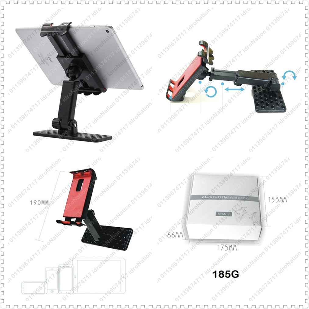 DJI Mavic Pro 2 Air Spark Remote Control Phone Tablet Holder Stent 4-1