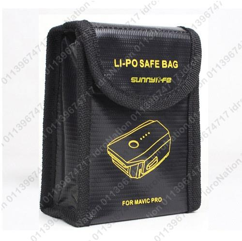 DJI MAVIC PRO LiPo Li-Po Battery Charging Storage Fireproof Safe Bag