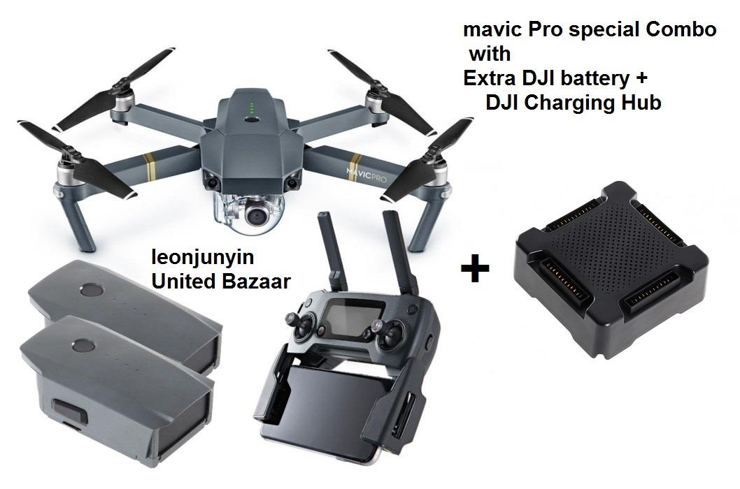 DJI Mavic Pro Special Combo(2 batteries & 1 Charging Hub) Sealed set