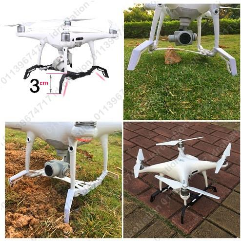 DJI Phantom 4 Pro Pro+ Landing Gear Leg Height Extender & Gimbal Guard