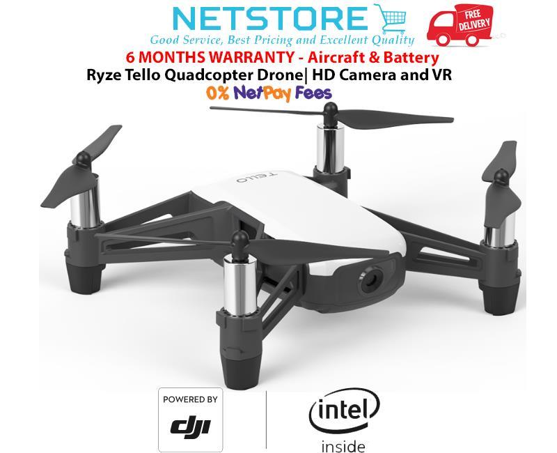 DJI Ryze Tello Programmable Quadcopter Drone