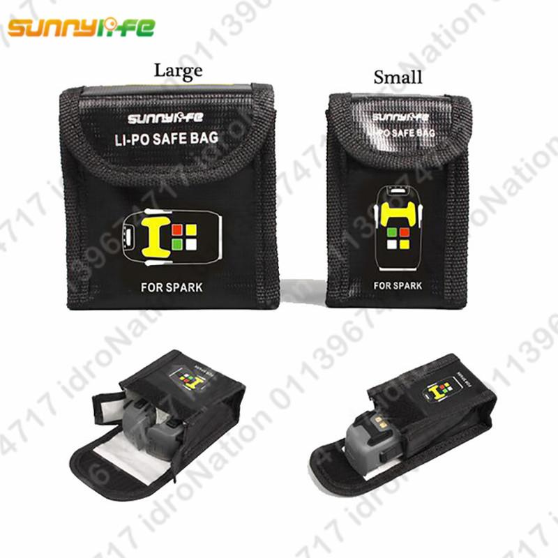 DJI Spark LiPo Li-Po Battery Charging Storage Fireproof Safe Bag