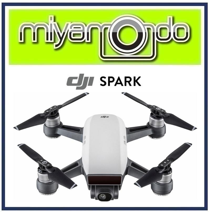 DJI Spark Quadcopter Alpine White Drone Malaysia Warranty