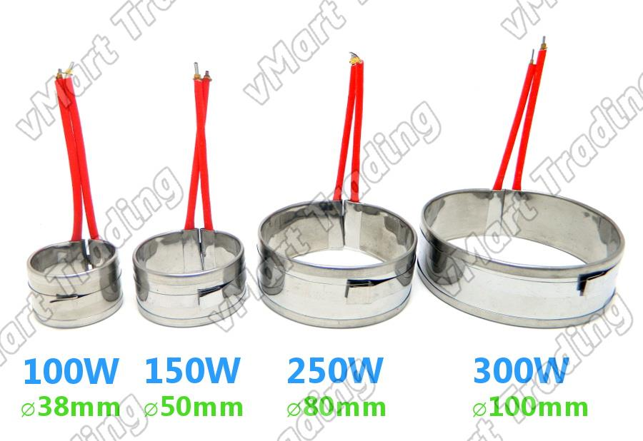 DKT-300W-HE Heating Element Coil / Heater Band for Solder Pot