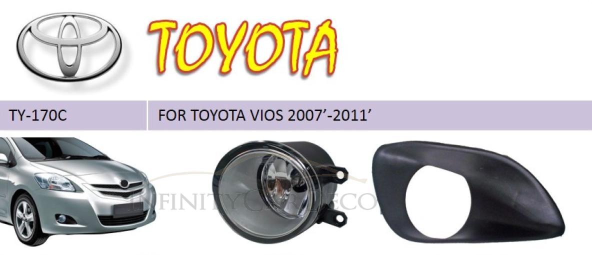 Toyota Vios Fog Light set