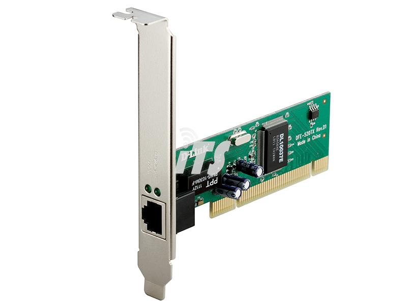 Dlink 10/100Mbps Ethernet PCI Card for PC