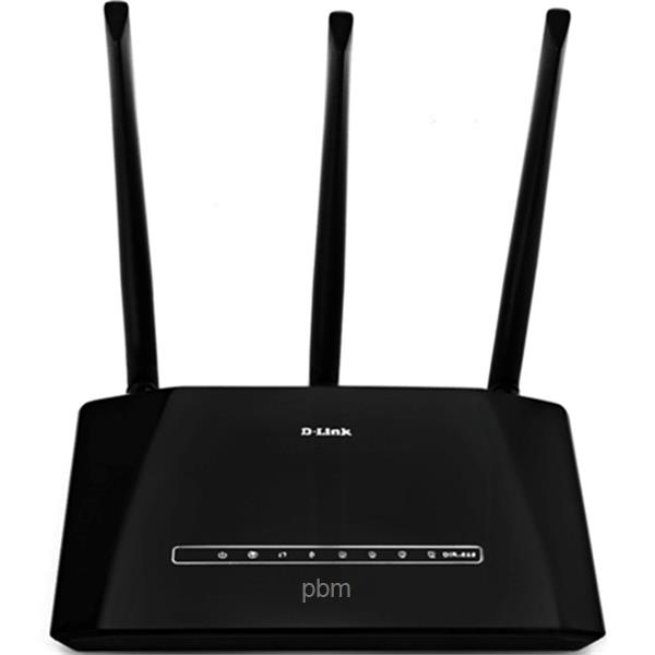 DLINK Wireless N 450M 4 Port Router with 3 x 5dBi Antenna High Power S