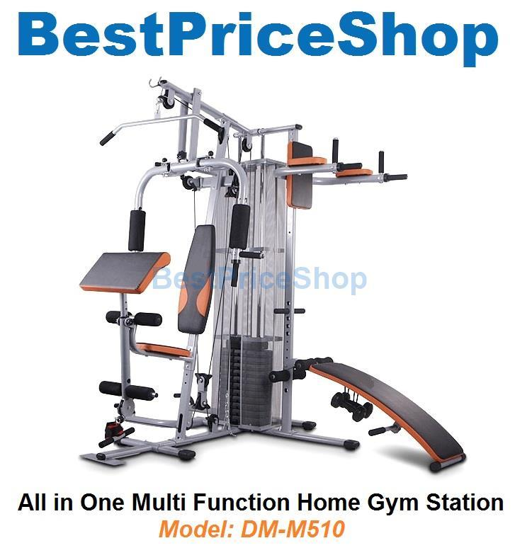 Best Home Gym 2020.Dm M510 Multiway All Function Home Fitness Gym Station Press Machine