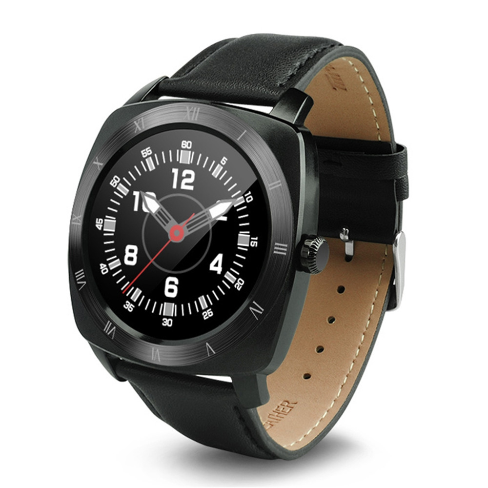 Dm88 Bluetooth 30 40 Smart Watch End 12 5 2020 632 Pm Speaker Leather Black Perak Band Dial