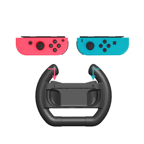 DOBE Nintendo Switch Steering Wheel Joy-Con Racing Nintendos Controller-1 Pair