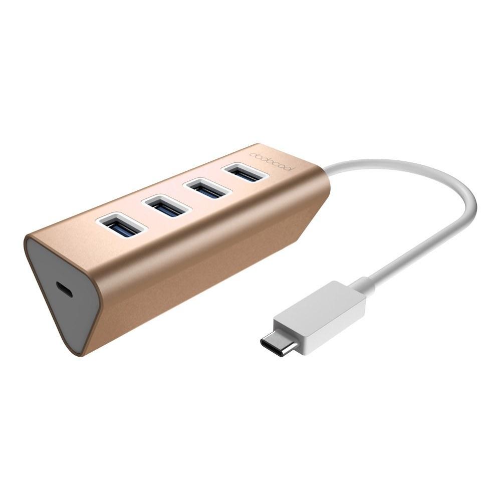 Dodocool Aluminum USB TypeC Male To End AM - Port usb type c