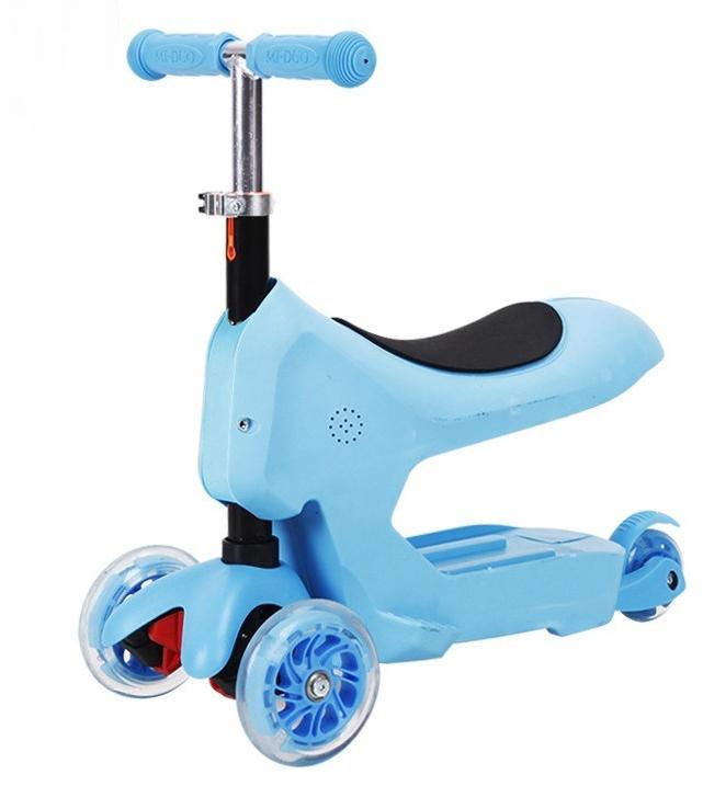 DODOPONY Baby Walker 3-Wheels Push Scooter