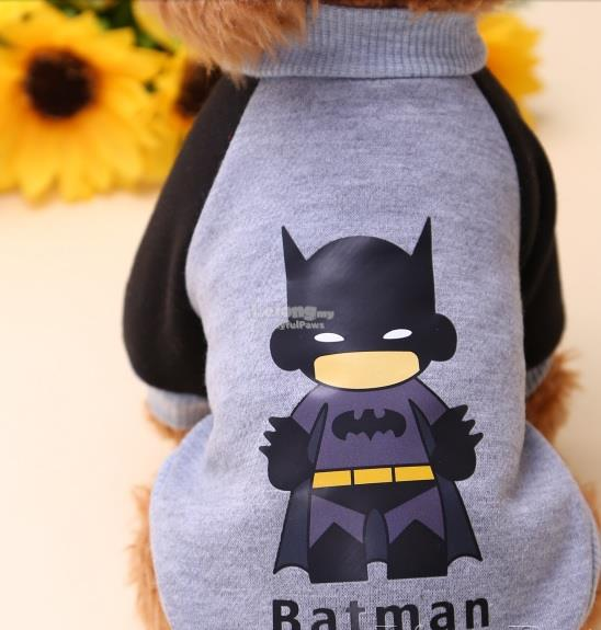 Dog Clothes / Apparel : Bat-MAn Medium