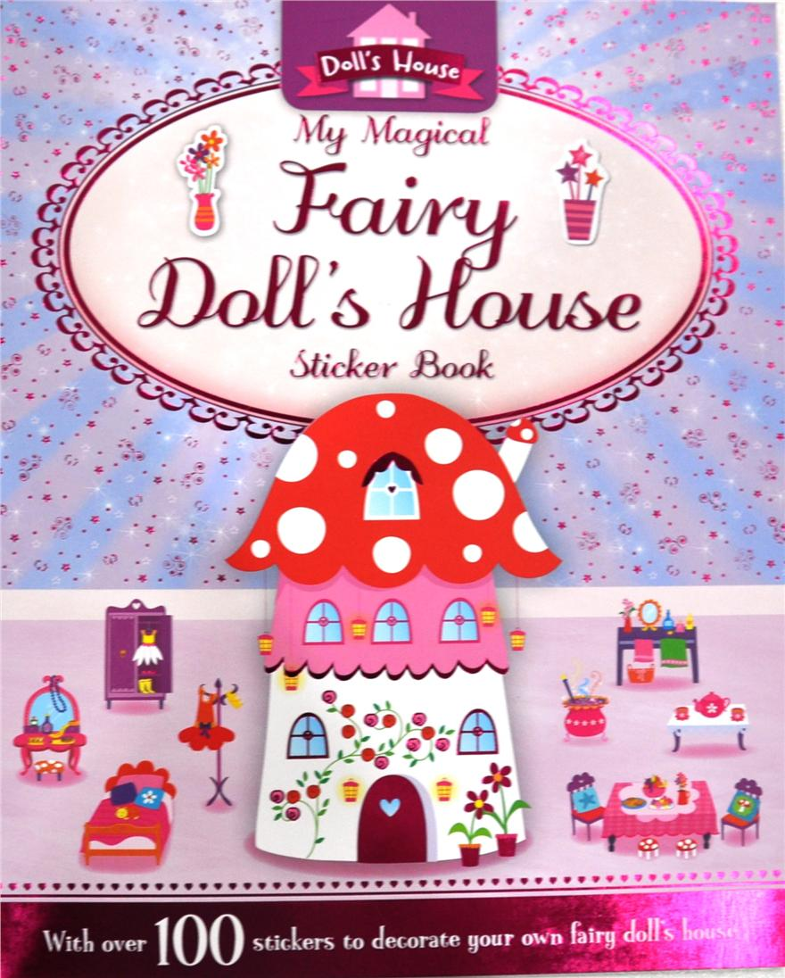 My Dolls House Sticker Book Activ End 1 28 2017 419 Pm Activity Books Pretty Pink