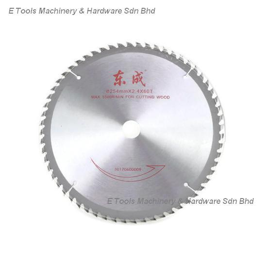 DONGCHENG 10' X 60T WOOD MACHINE SAW BLADE
