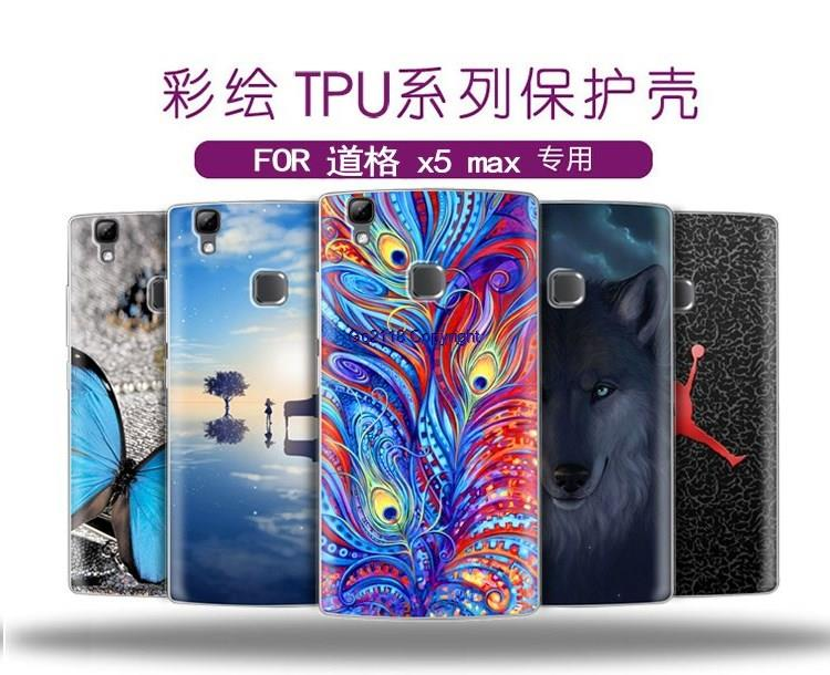 Doogee X5max X5 max Cartoon Painting TPU Silicone Soft Back Case Cover