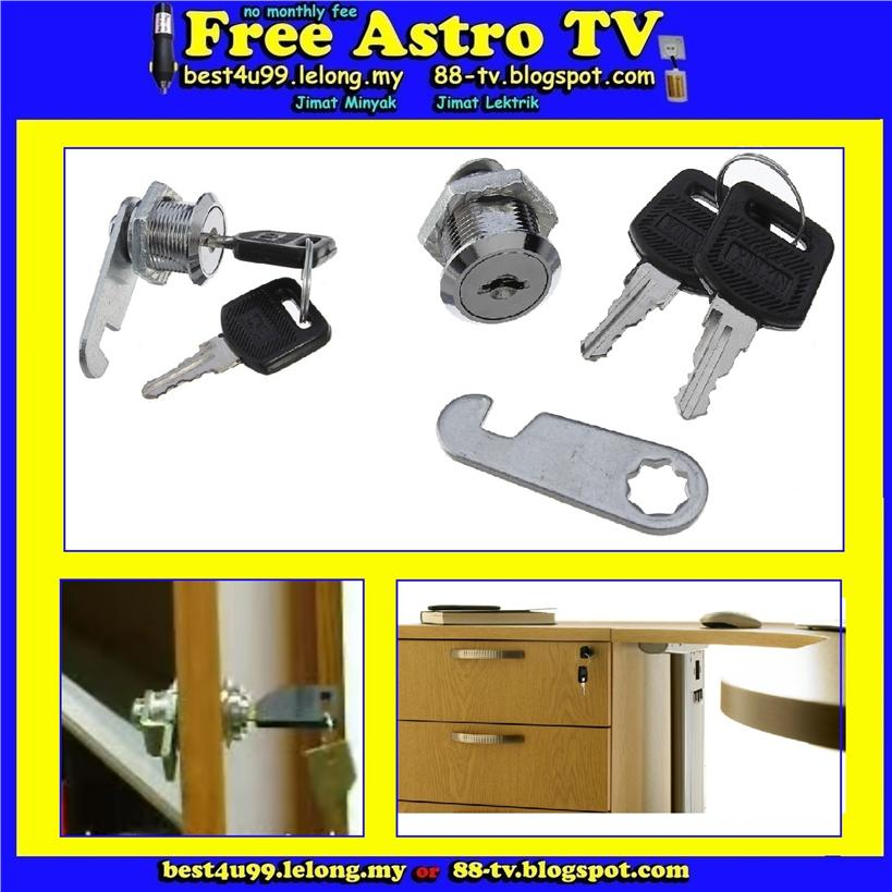 Door Cabinet Mailbox Drawer Cupboard Wardrobe Locker Security Cam Lock