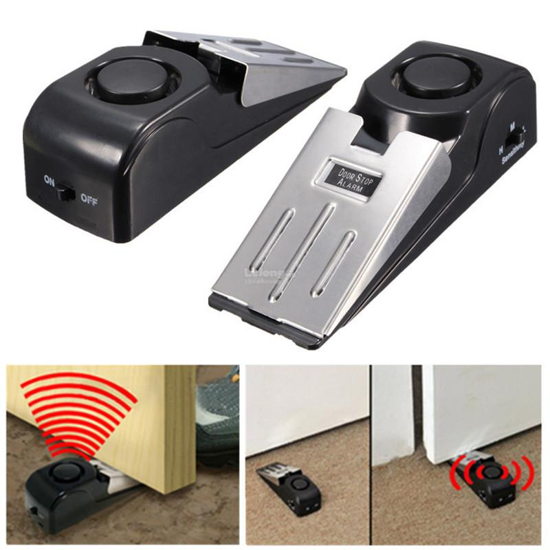 Door Stop Alarm Wireless Home Travel Security Portable System Safety