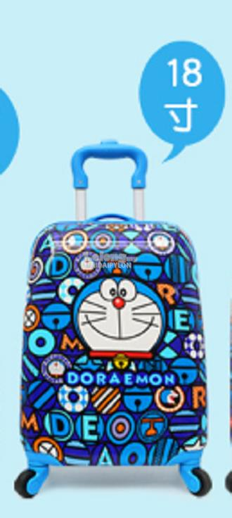Doraemon 18 inch luggage travel small cartoon